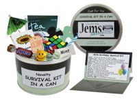 50th Birthday Survival Kit In A Can